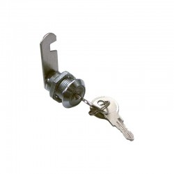 cerradura de buzón con lengüeta recta