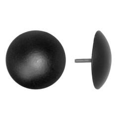 clavo liso negro para puerta