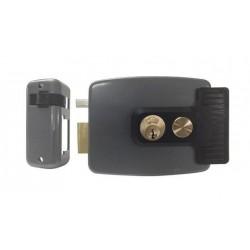 cerradura eléctrica con botón pulsador